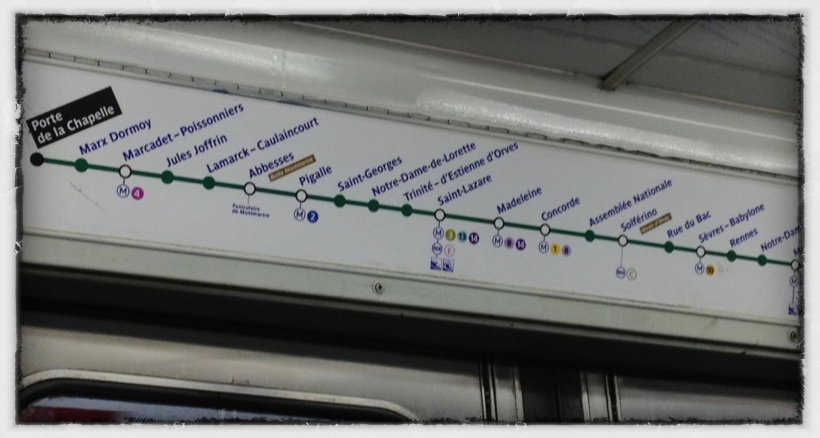 Paris Metro Lois Reynolds Mead
