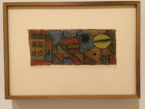1940, Suburban Evening Wax crayon with undercoating