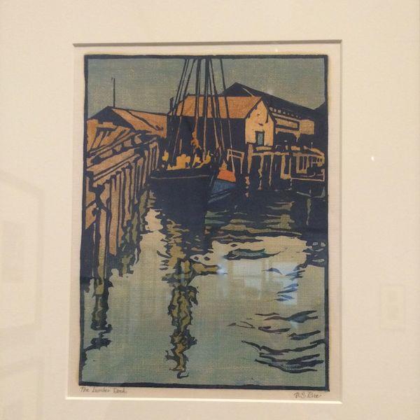 The Lumberdock-San Francisco Bay c. 1917