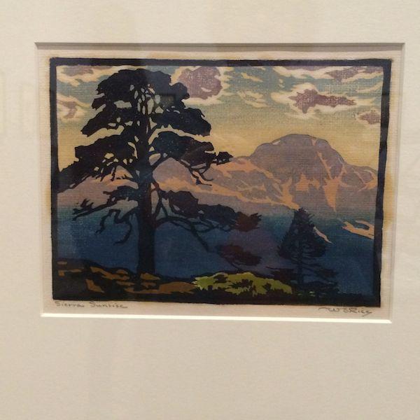 Sierra Sunrise c. 1925