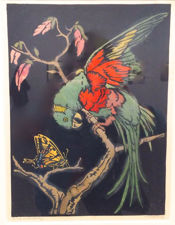 Parrot and Butterfly c. 1925