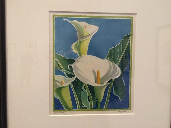 White Calla c.1925